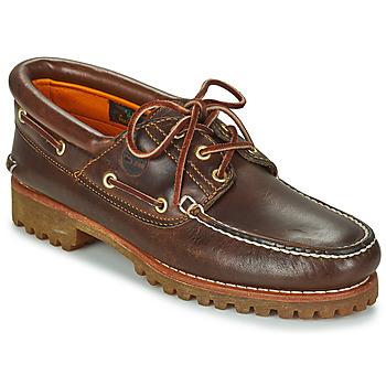 Topánky Muži Námornícke mokasíny Timberland 3 EYE CLASSIC LUG Hnedá