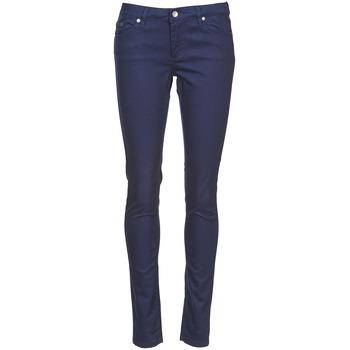 Oblečenie Ženy Nohavice päťvreckové Element STICKER Modrá