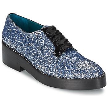 Topánky Ženy Derbie Sonia Rykiel 676318 Modrá / Strieborná