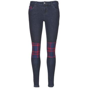 Oblečenie Ženy Džínsy Slim American Retro LOU Modrá