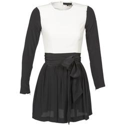 Oblečenie Ženy Krátke šaty American Retro STANLEY Čierna / Biela