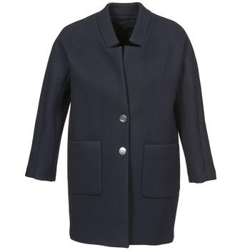 Oblečenie Ženy Kabáty American Retro LAURA Námornícka modrá