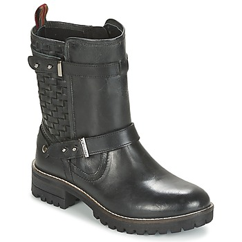 Topánky Ženy Polokozačky Pepe jeans HELEN čierna