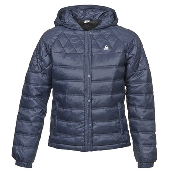 Oblečenie Ženy Páperové bundy Le Coq Sportif FANTAISIE DIBONA Námornícka modrá