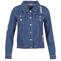 Oblečenie Ženy Džínsové bundy Yurban ESPINALE Modrá