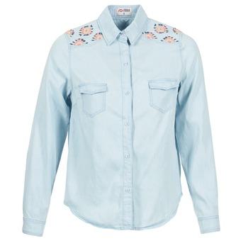Oblečenie Ženy Košele a blúzky Yurban EGUATOULE Modrá