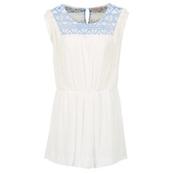 Oblečenie Ženy Krátke šaty Moony Mood EBENE Biela
