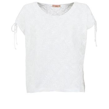 Oblečenie Ženy Blúzky Moony Mood EDDA Krémová