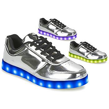 Topánky Ženy Nízke tenisky Wize & Ope THE LIGHT Strieborná