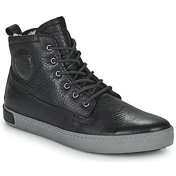 Topánky Muži Členkové tenisky Blackstone JIVIDETTE Čierna