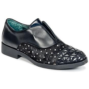 Topánky Ženy Derbie Café Noir BASILE Čierna
