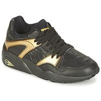 Topánky Ženy Nízke tenisky Puma BLAZE GOLD WN'S čierna / Zlatá
