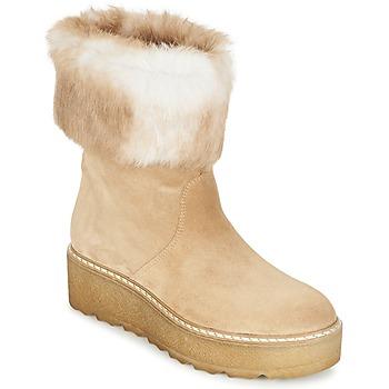 Topánky Ženy Polokozačky Nome Footwear MOVETTA Béžová