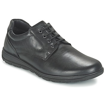 Topánky Muži Derbie Salamander NANDO Čierna