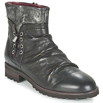 Topánky Ženy Polokozačky Dkode SARINA Čierna