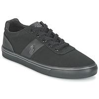 Topánky Muži Nízke tenisky Polo Ralph Lauren HANFORD-NE Čierna