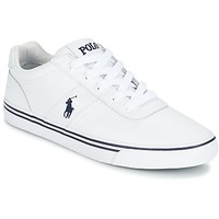 Topánky Muži Nízke tenisky Polo Ralph Lauren HANFORD Biela