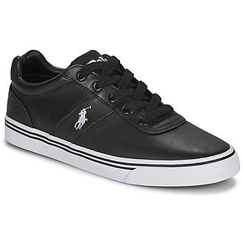 Topánky Muži Nízke tenisky Ralph Lauren HANFORD čierna