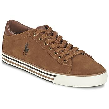 Topánky Muži Nízke tenisky Ralph Lauren HARVEY Oranžová koňaková