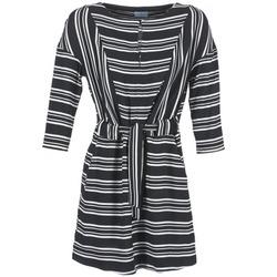 Oblečenie Ženy Krátke šaty Loreak Mendian PILI Čierna / Biela