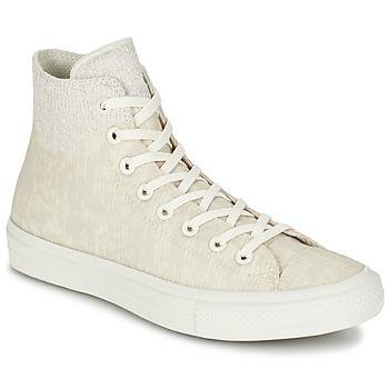Topánky Členkové tenisky Converse CHUCK TAYLOR ALL STAR II  CAOUTCHOUC HI Béžová