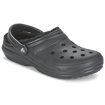 Topánky Nazuvky Crocs CLASSIC LINED CLOG čierna