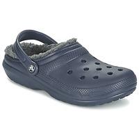 Topánky Nazuvky Crocs CLASSIC LINED CLOG Námornícka modrá / šedá