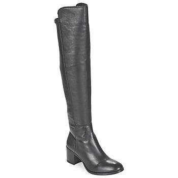 Topánky Ženy Čižmy do mesta Unisa FARIA čierna
