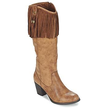 Topánky Ženy Čižmy do mesta Refresh TRITOU Ťavia hnedá