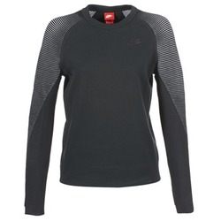 Oblečenie Ženy Mikiny Nike TECH FLEECE CREW Čierna