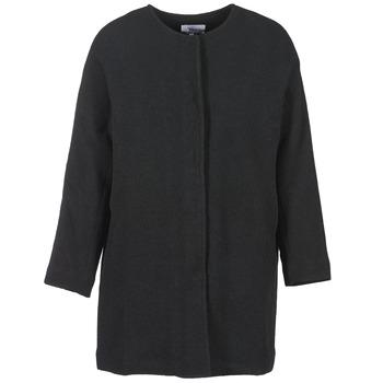 Oblečenie Ženy Kabáty Suncoo EMILE Čierna