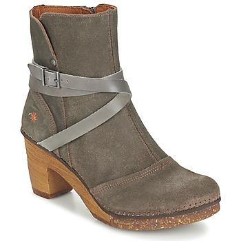 Topánky Ženy Čižmičky Art AMSTERDAM šedá