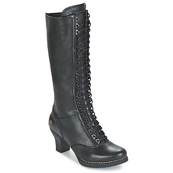 Topánky Ženy Čižmy do mesta Art HARLEM čierna