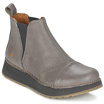 Topánky Ženy Polokozačky Art HEATHROW šedá