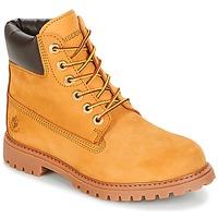 Topánky Ženy Polokozačky Lumberjack RIVER Svetlá hnedá medová