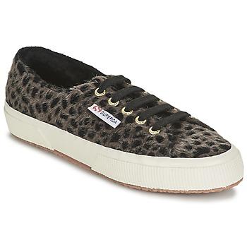 Topánky Ženy Nízke tenisky Superga 2750 LEOPARDHORSEW Leopard