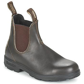 Topánky Polokozačky Blundstone CLASSIC BOOT Hnedá
