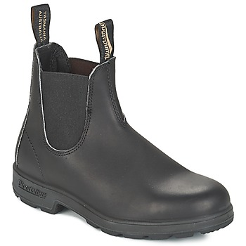 Topánky Polokozačky Blundstone CLASSIC BOOT Čierna / Hnedá
