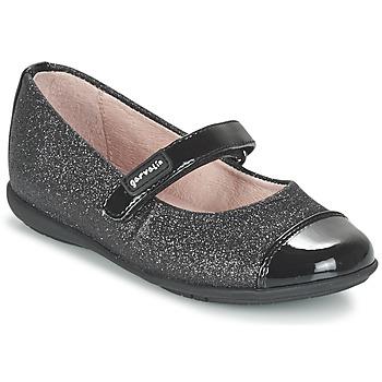 Topánky Dievčatá Balerínky a babies Garvalin JALINA čierna