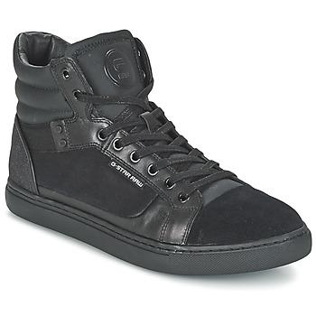Topánky Muži Členkové tenisky G-Star Raw NEW AUGUR čierna
