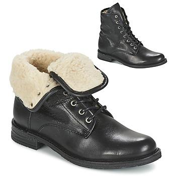 Topánky Ženy Polokozačky Mustang SABORA Čierna