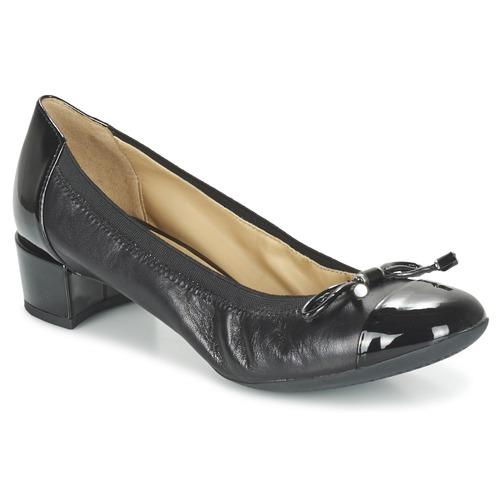 Topánky Ženy Lodičky Geox CAREY A Čierna