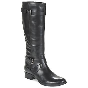 Topánky Ženy Čižmy do mesta Geox MENDI ST D čierna