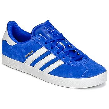 Topánky Chlapci Nízke tenisky adidas Originals GAZELLE 2 J Modrá