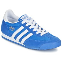 Topánky Chlapci Nízke tenisky adidas Originals DRAGON J Modrá