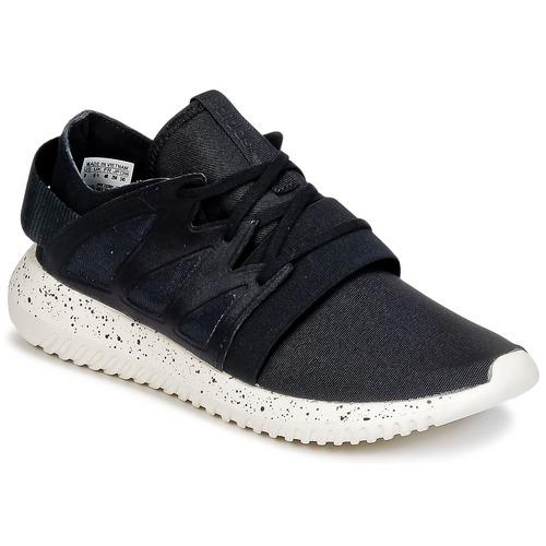 Topánky Ženy Nízke tenisky adidas Originals TUBULAR VIRAL W Čierna