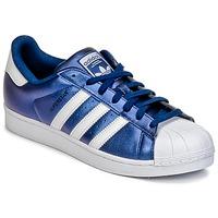 Topánky Muži Nízke tenisky adidas Originals SUPERSTAR Modrá
