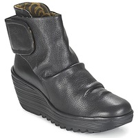 Topánky Ženy Čižmičky Fly London YEGI Čierna