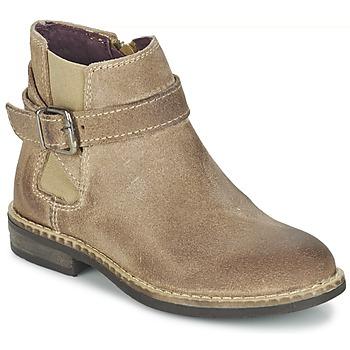 Topánky Dievčatá Polokozačky Mod'8 NEL Béžová