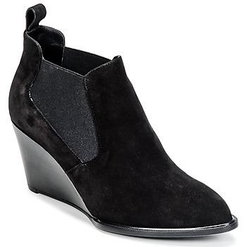 Topánky Ženy Nízke čižmy Robert Clergerie OLAV Čierna